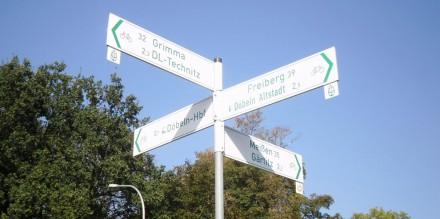 Überprüfung StVO-Konformität Mulderadweg im Landkreis Mittelsachsen