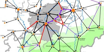 Radroutenkonzeption für den Landkreis Zwickau