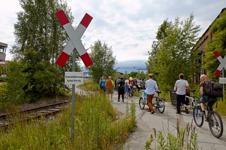 Potenzialuntersuchung stillgelegter Bahntrassen in Leipzig