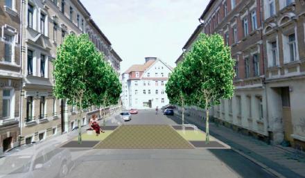 Machbarkeitsstudie Aufwertung Einmündung Georg-Schwarz-Straße