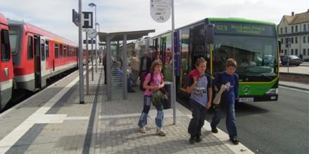 Realisierung Schnittstelle Bahnhof Geithain