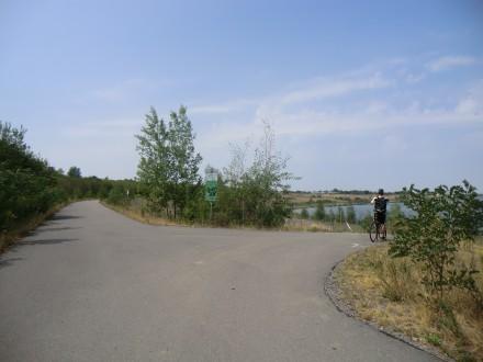 Radwegeverbindung zwischen Böhlen und Zwenkau