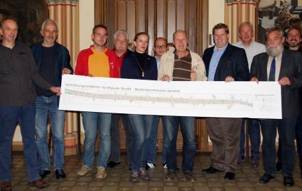 Mediationsverfahren zur Umgestaltung Nordhäuser Straße in Erfurt