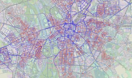 Bedeutungsplan Fußverkehr Leipzig
