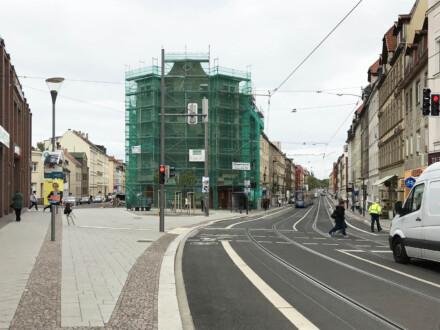 Nach 10 Jahren: Magistralenmanagement Georg-Schwarz-Straße abgeschlossen