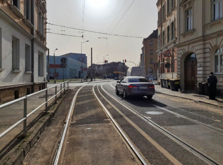 Gestalterische Begleitung des Verkehrsbauvorhabens Gorkistraße